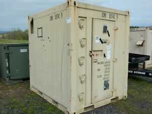 U s m c Refrigerated Container Unit