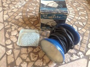 Nib Unique Coilite Handy Trouble Light Early Lamp Vintage Auto Truck Nos