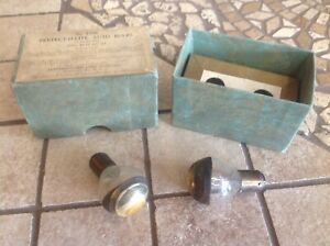 Nib Head Light Bulbs Early Lamp Vintage Auto Truck Perfect o lite No 1000