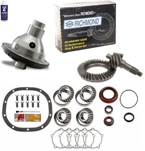 Ford 8 4 11 Ring And Pinion 28 Spline Traclok Posi Master Kit Richmond Gear Pkg