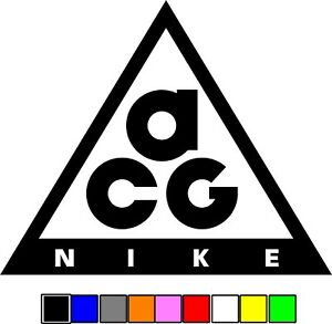 Nike Acg Decal Sticker American Sport Exercise Outdoor Swoosh Free Shipping