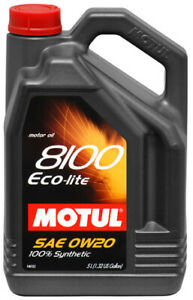 Motul 108536 8100 Eco Lite Oil Engine Oil