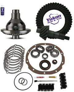 Ford 8 3 80 Ring And Pinion 28 Spline Traclok Posi Master Kit Yukon Gear Pkg