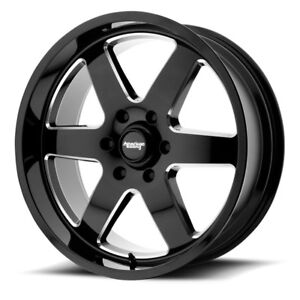 17 Inch Black Wheels Rims Chevy Truck Tahoe Yukon Express Van Jeep Jk 5 Lug New