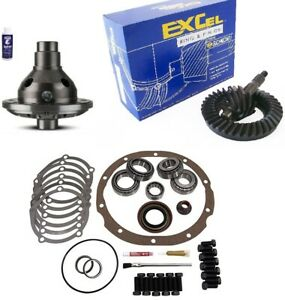 Ford 9 3 50 Ring And Pinion 28 Spline Traclok Posi Master Kit Excel Gear Pkg