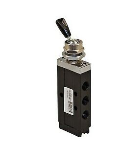 Truck Star 6451030 4 Way 2 Position Toggle Style Air Valve