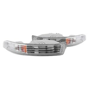For Acura Integra 1994 1997 Anzo Chrome Crystal Turn Signal Parking Lights