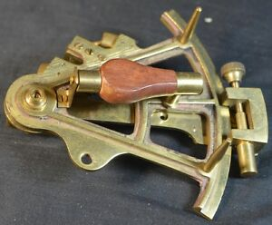 Stanley London Small Brass Sextant