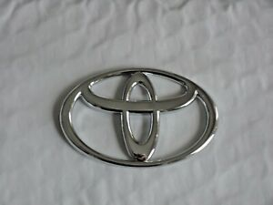 New For Toyota Chrome Steering Wheel Center Badge Logo Free Shipping