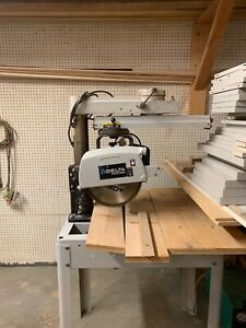 Rockwell Delta Radial Arm Saw 16 5hp Single Phase Used Great Condition