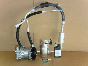 New Ac Compressor Kit 1996 1999 Chevrolet Suburban Tahoe 5 7 With Rear Ac