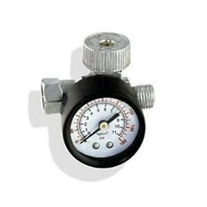1x 1 4 Bsp Spray Gun Air Regulator With Pressure Gauge And Diaphragm Control