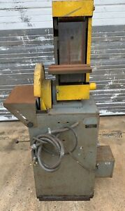 Kalamazoo Combination Sander 12 Disc 6 Belt Sandbelt Vacuum 3 Hp 115 230 V