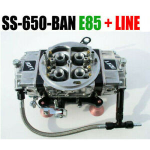 Quick Fuel Ss 650 Ban E85 Black Mech Blow Thru Annular 6 Fuel Line Kit New Look