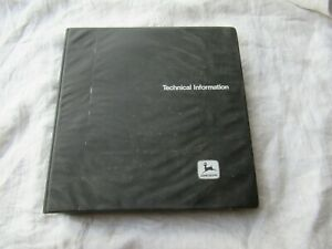 John Deere 8450 8650 8850 Tractor Technical Service Manual Operation And Tests