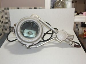 Vintage Crouse Hinds Nautical Searchlight Fire Department Explosion Proof