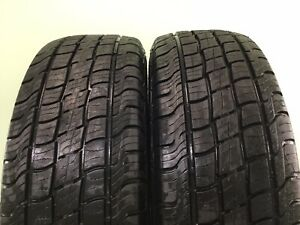 Set Of 2 Used Tires 90 Life P235 70r16 106t Mastercraft Courser Hsx Tour
