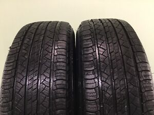Set Of 2 Used Tires 82 Life P235 70r16 104t Michelin Latitude Tour 2357016