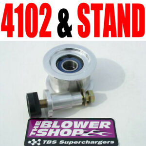 Blower Shop 4 Dia Idler Pulley Assembly 2 In Wide 4102 Stand Tee Nut