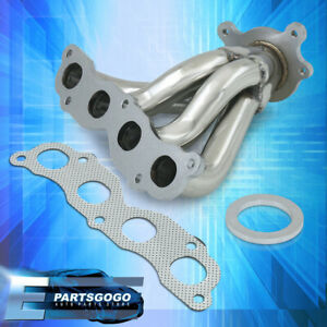 For 02 05 Honda Civic Si 06 Acura Rsx Dc5 Stainless Steel Exhaust Header