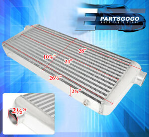 Universal Performance Front Mount Aluminum Intercooler Tube Fin 30 x11 x2 5