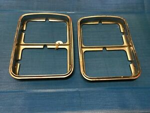 1977 Chevrolet Monte Carlo Head Lights Bezel Chrome Trim