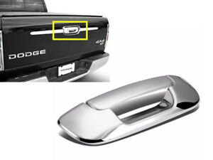 For 2002 2008 Dodge Ram 1500 2500 3500 Chrome Tailgate Door Handle Cover Covers
