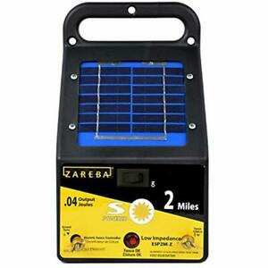 Esp2m z Agricultural Fencing 2 mile Solar Low Impedance Electric Fence Charger