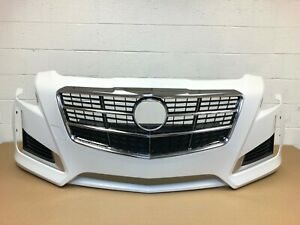 2014 2015 2016 2017 Cadillac Cts Front Bumper Abalone White Color 22