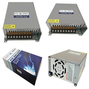 12v 50a Dc Universal Regulated Switching Power Supply 600w For Cctv Radio Led Co