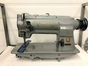 Singer 211g156 Walking Foot Vertical Bobbin Reverse Industrial Sewing Machine