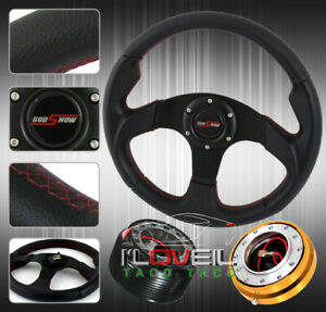 3pc Combo Quick Release Hub 32 0mm T200 Racing Jdm Steering Wheel Civic Eg