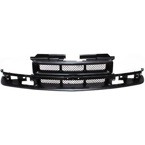 Grille For 98 2004 Chevrolet S10 98 2005 Blazer Paint To Match Plastic