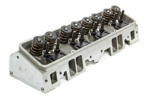Flo Tek 102505 Small Block Chevy Assembled Cylinder Head With 1 45 Spring
