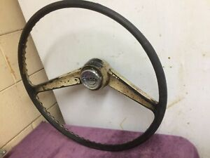 60 61 62 63 64 65 66 Chevy Gmc Big Truck Steering Wheel Original Used Rat Rod