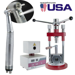 Dental Flexible Denture Machine Injection System Equipment Press 400w handpiece