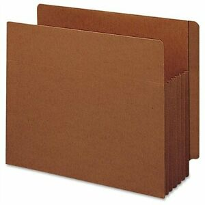 Smead 73790 Redrope Extra Wide End Tab Tuff Pocket File Pockets With Reinforced