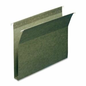 Smead 64239 Standard Green Hanging Box Bottom Folders Letter 8 50 X 11