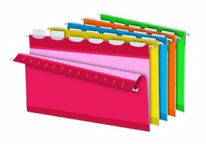 Pendaflex Readytab Color Hanging Folders Legal 8 50 X 14 1 5 Tab Cut