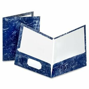 Oxford Marble Laminated Twin Pocket Folders Letter 8 50 X 11 100 Sheet