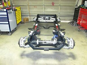 1953 1962 Corvette Rolling Chassis Project Car