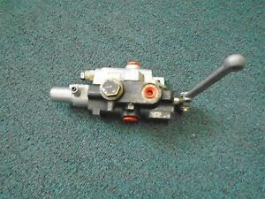 70090 00201 Hydraulic Valve Single Acting New 3 8 1 4 By pass Log Splitter
