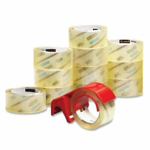 3m Scotch Bp 6 Premium Packaging Tape With Dispenser 1 88 Width X 54 60 Yd