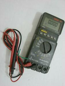 Bk Precision Asyc Ii 5360 True Rms Digital Multimeter Dmm Bar Graph