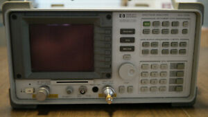 Hp 8590b 9khz 1 8ghz Spectrum Analyzer W Tracking Generator