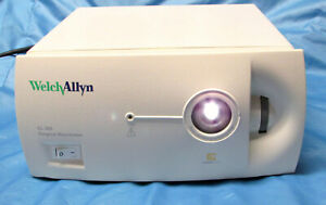 Welch Allyn Cl 300 Surgical Illuminator Light Source Endoscope Storz Head Xenon