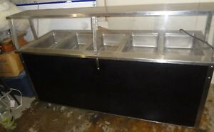 Vollrath 37050 0002 cnb Stainless Steel Counter W Hot Food Station