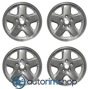 Jeep Liberty 2001 2007 16 Oem Wheel Two Piece Rim Set