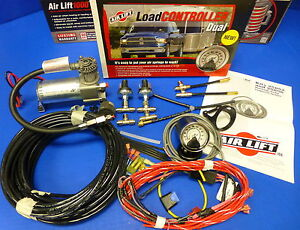 Air Lift 25856 Dual Load Level Controller On Board Compressor System Hevy Duty