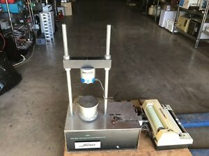 Soiltest Compression Tester Ap 170a With Soiltest Omniscribe Recorder Ap 707